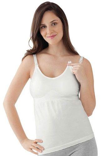 f84cbe8baf9af8 ... Medela Koszulka dla kobiet w ciąży i karmiących piersią Tank Top  Bravado biała / XL ...